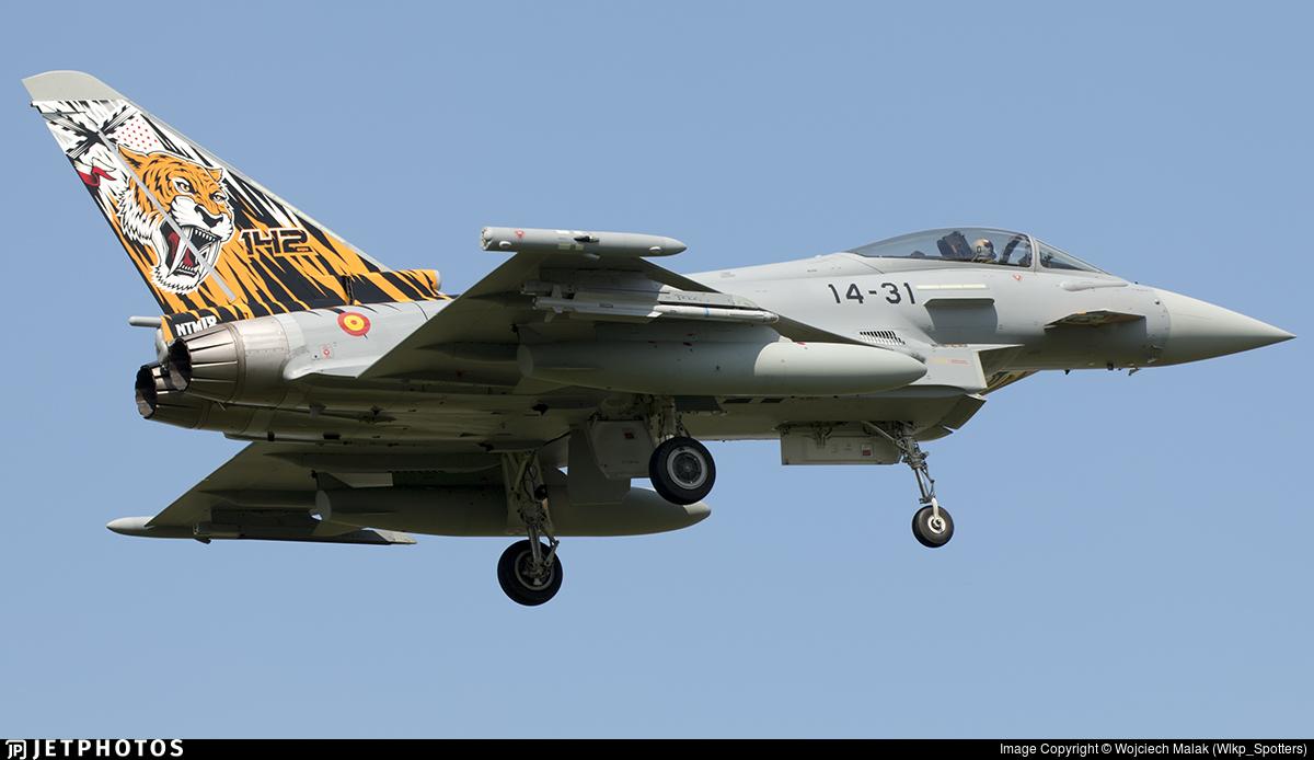 C.16-71 - Eurofighter Typhoon EF2000 - Spain - Air Force