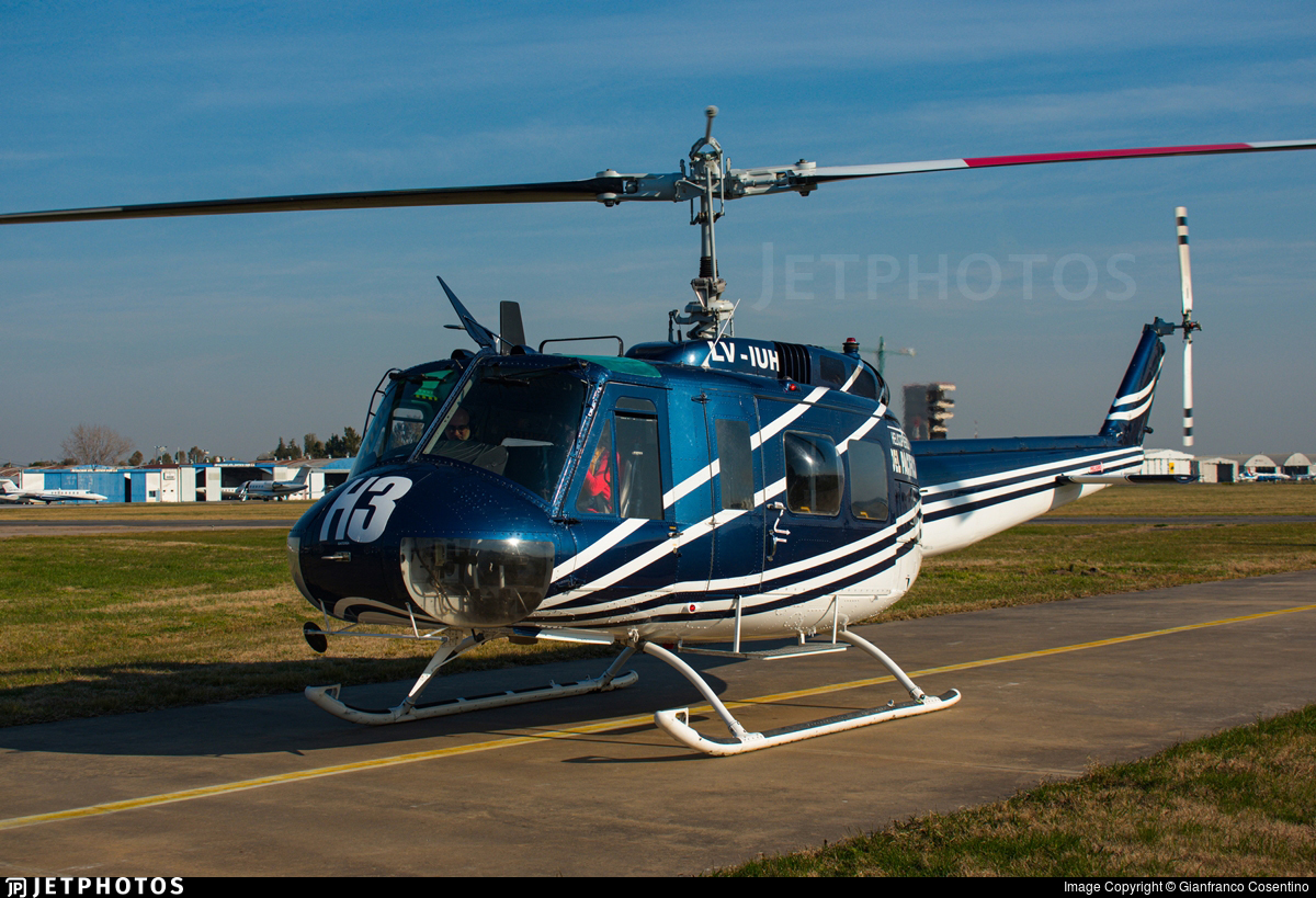 LV-IUH - Bell UH-1D Iroquois - Private