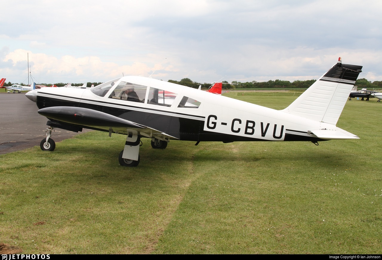 G-CBVU - Piper PA-28R-200 Cherokee Arrow B - Private