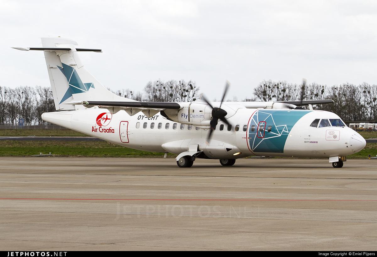OY-CHT - ATR 42-300 - Air Croatia (FlyDenim)
