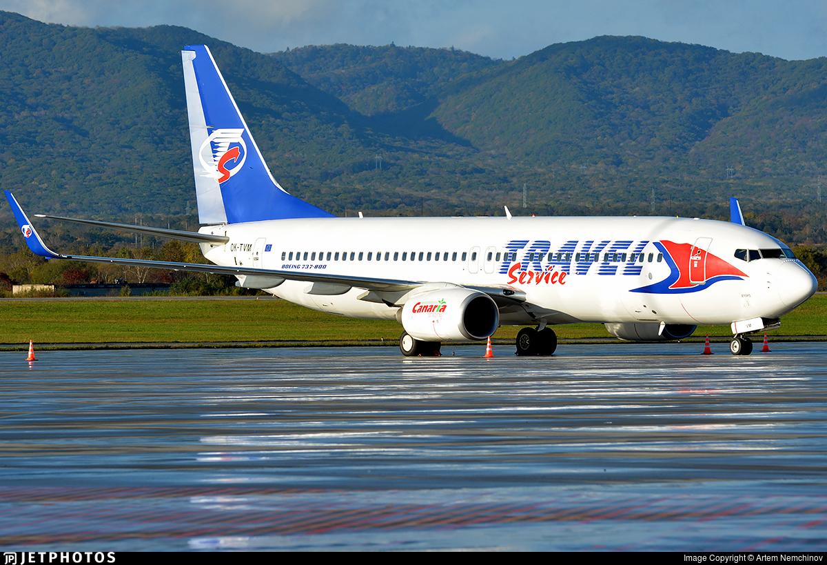 OK-TVM - Boeing 737-8FN - Travel Service