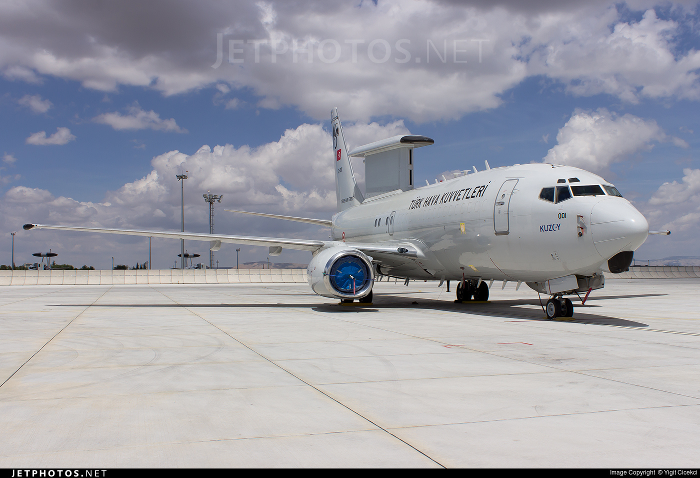 13-001 | Boeing 737-7ES Peace Eagle | Turkey - Air Force | Yigit ...