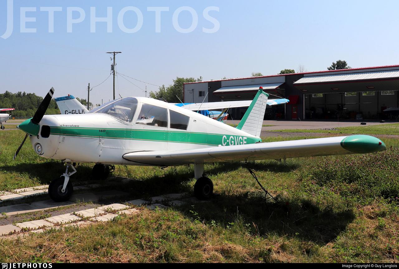 C-GVGE - Piper PA-28-140 Cherokee - Private