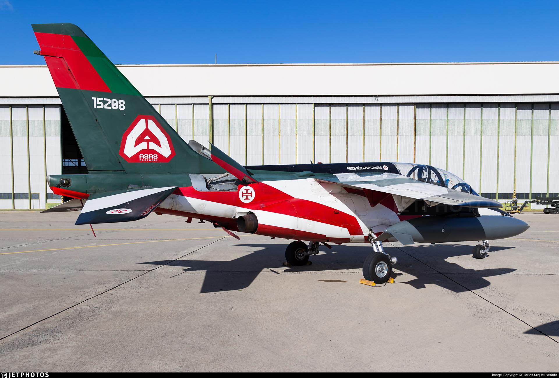 15208 - Dassault-Dornier Alpha Jet A - Portugal - Air Force