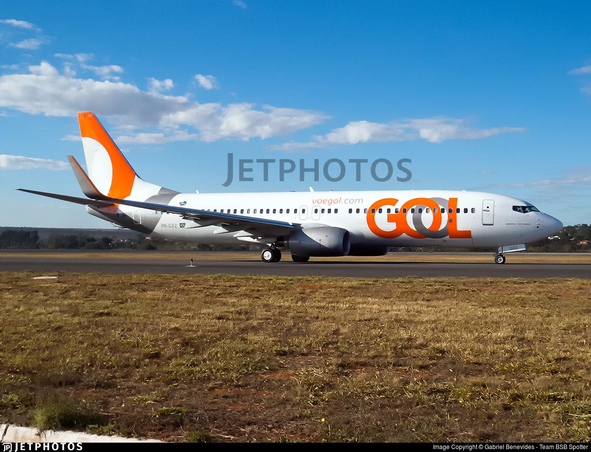 PR-GXZ - Boeing 737-8EH - GOL Linhas Aereas