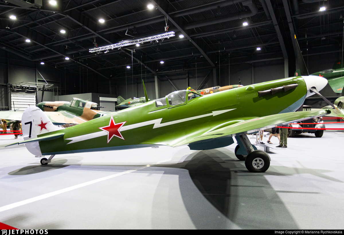 7 - Supermarine Spitfire Mk.VB - Soviet Union - Air Force