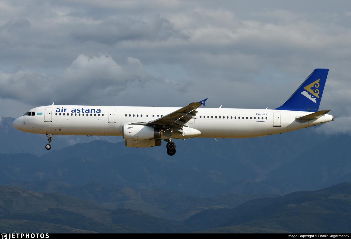 P4-NAS - Airbus A321-231 - Air Astana