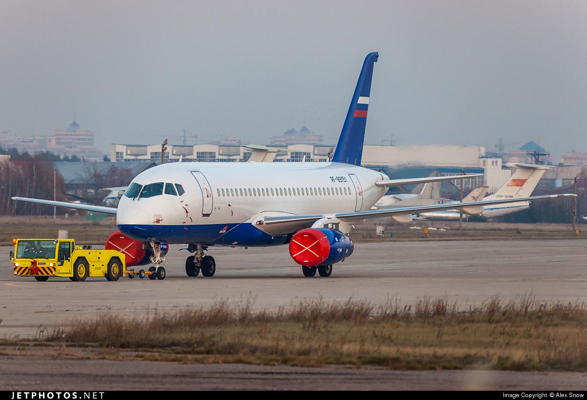 RF-89151 - Sukhoi Superjet 100-95B - Russia - Ministry of Internal Affairs