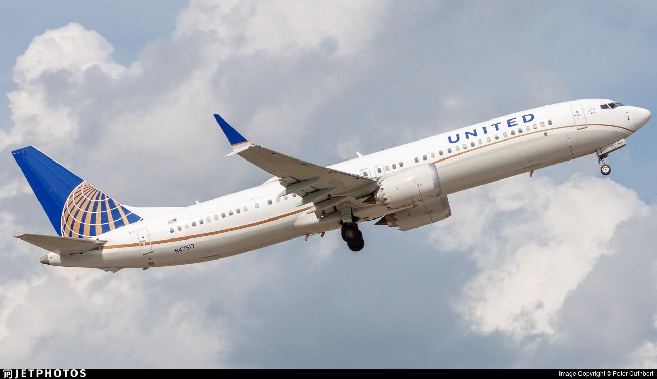 N47517 - Boeing 737-9 MAX - United Airlines
