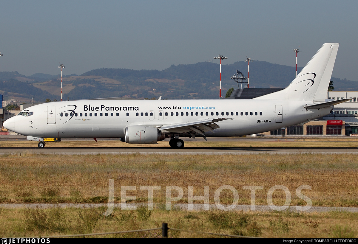 9H-AMW - Boeing 737-4Q8 - Blue Panorama Airlines (Air Horizont)