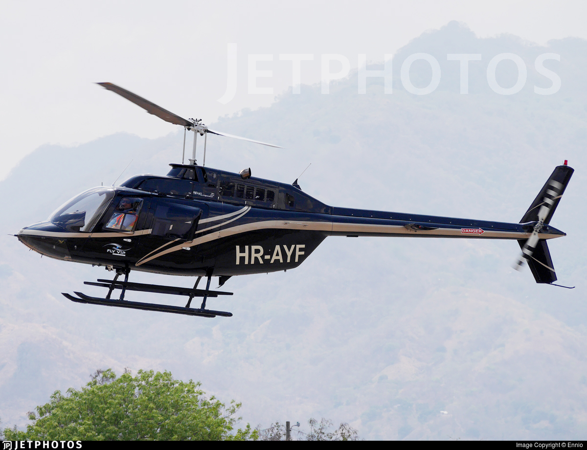 HR-AYF - Bell 206B JetRanger III - Private