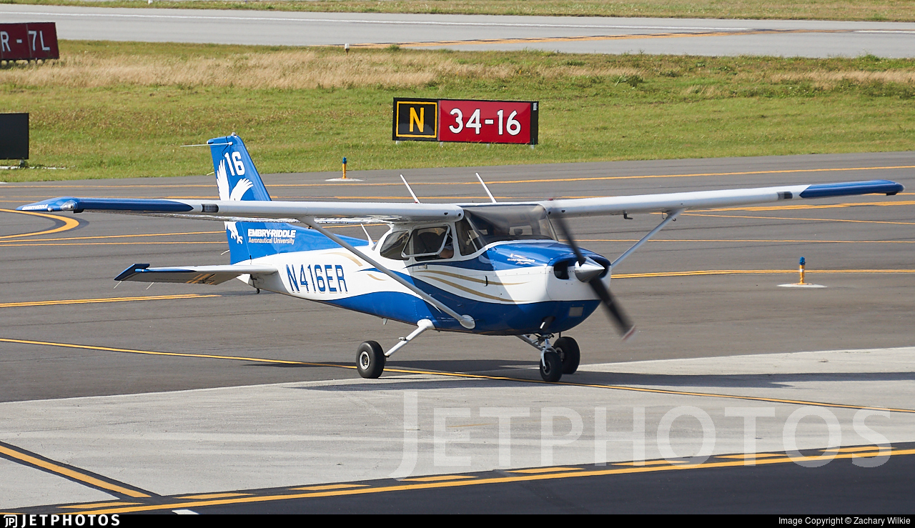 N416ER - Cessna 172S Skyhawk SP - Embry-Riddle Aeronautical University (ERAU)