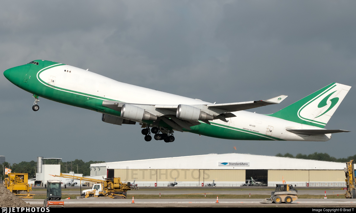 4X-ICD - Boeing 747-4EVERF - Cargo Air Lines (CAL)