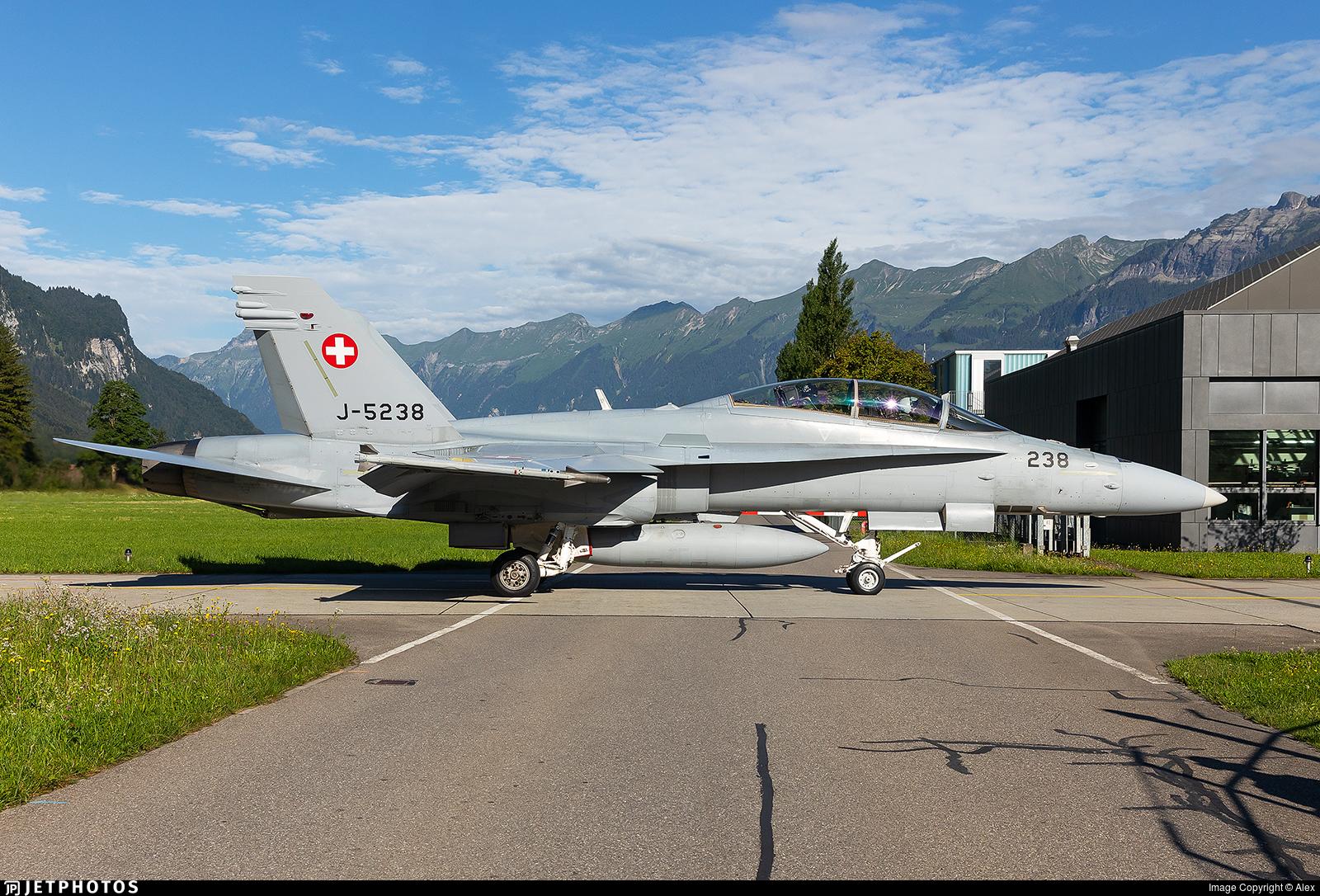 J-5238 - McDonnell Douglas F/A-18D Hornet - Switzerland - Air Force