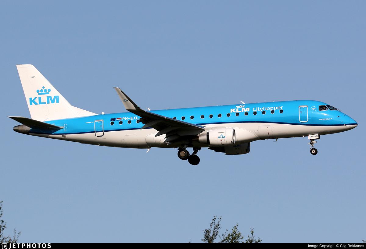 PH-EXL - Embraer 170-200STD - KLM Cityhopper