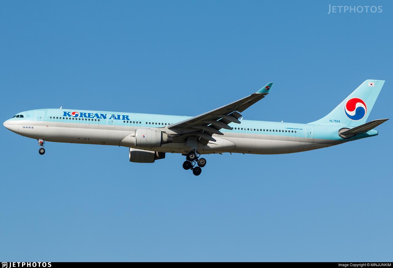 HL7524 - Airbus A330-322 - Korean Air