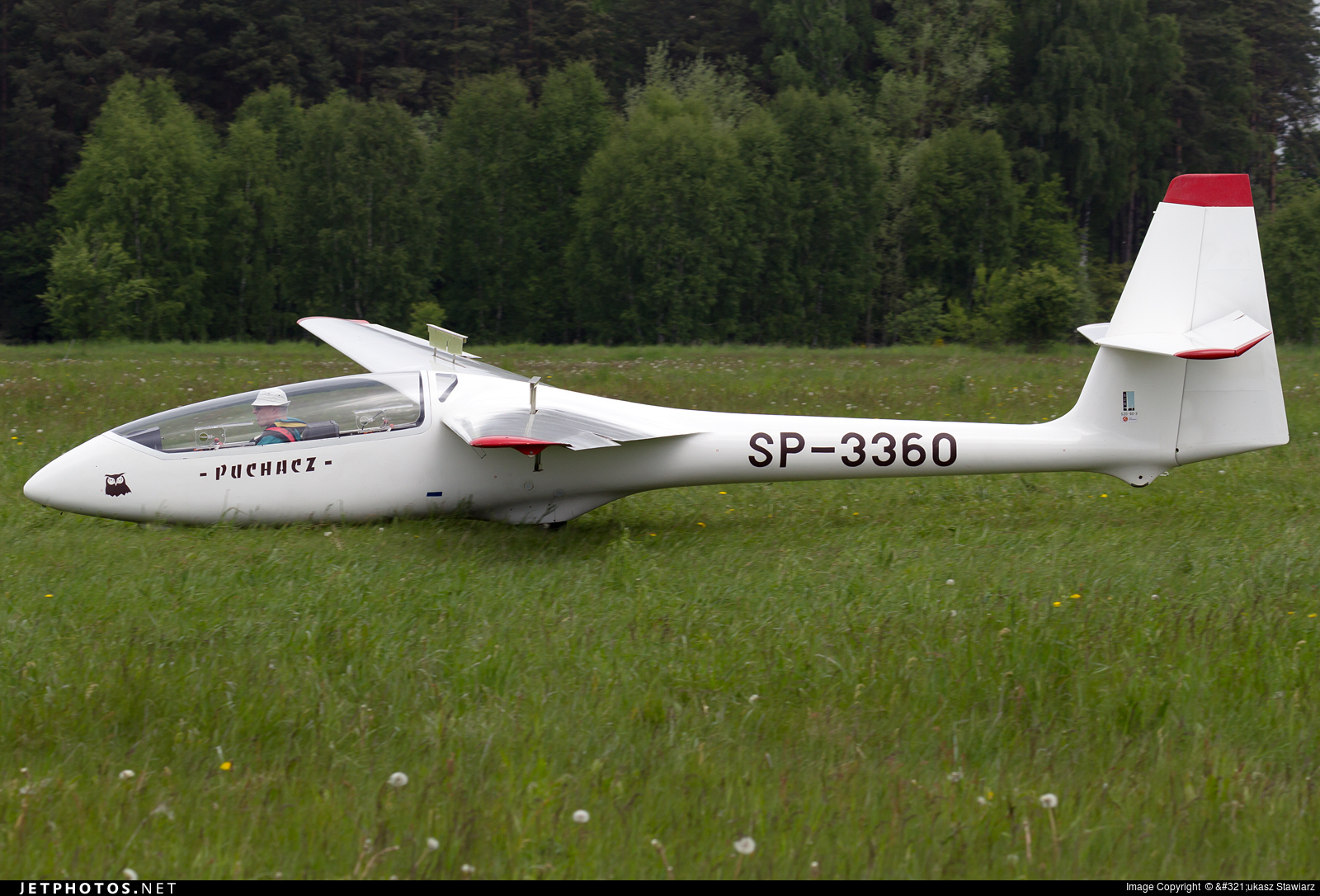SP-3360 - SZD 50-3 Puchacz - Aero Club - Slupsk