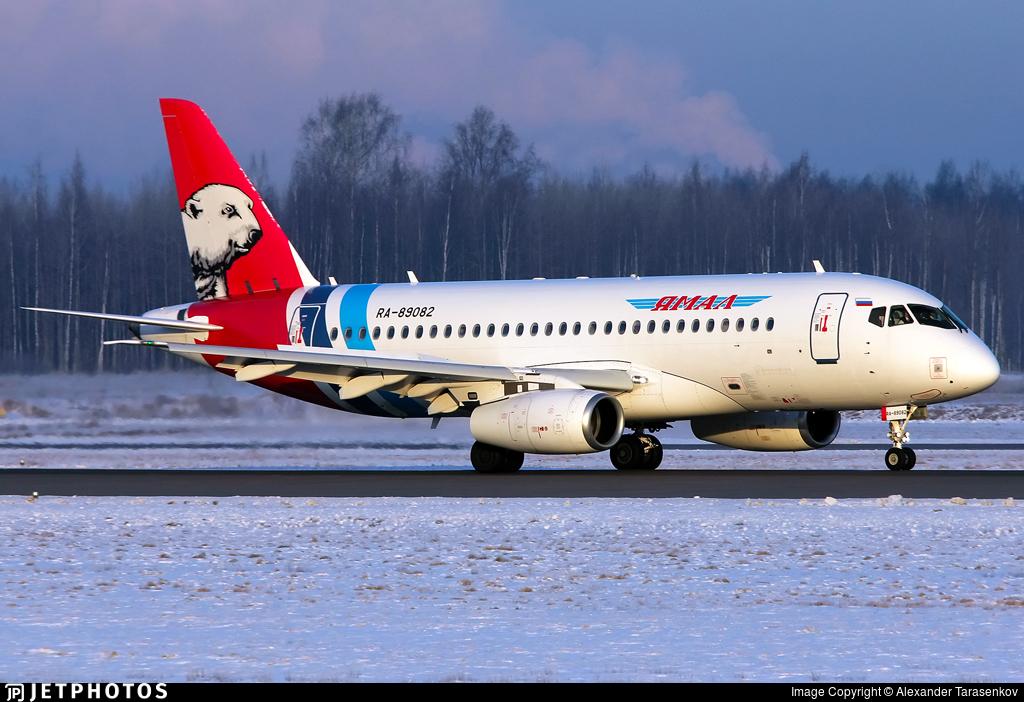 RA-89082 - Sukhoi Superjet 100-95LR - Yamal Airlines