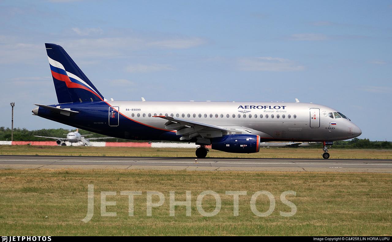 RA-89099 - Sukhoi Superjet 100-95LR - Aeroflot