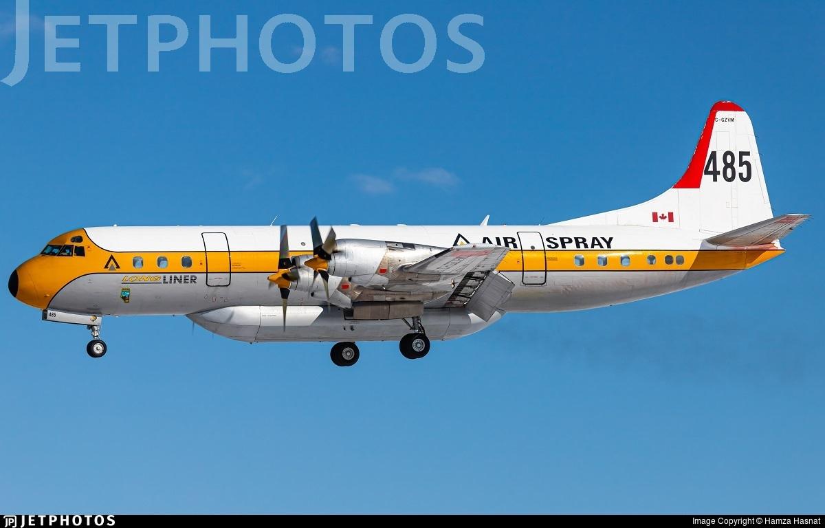 C-GZVM - Lockheed L-188A Electra - Air Spray