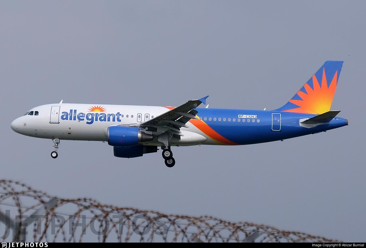 RP-C3263 - Airbus A320-214 - Allegiant Air