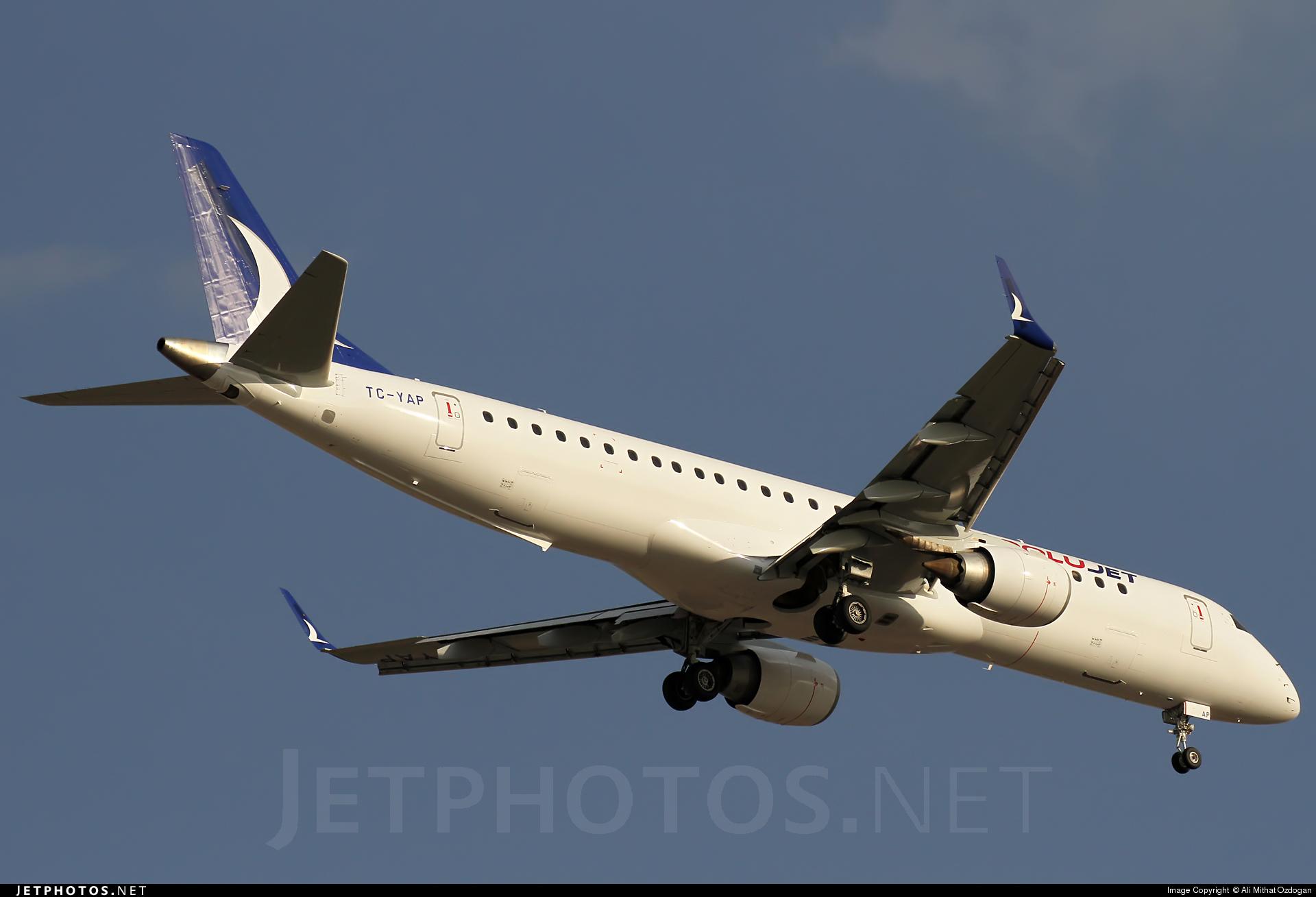 TC-YAP - Embraer 190-200LR - AnadoluJet