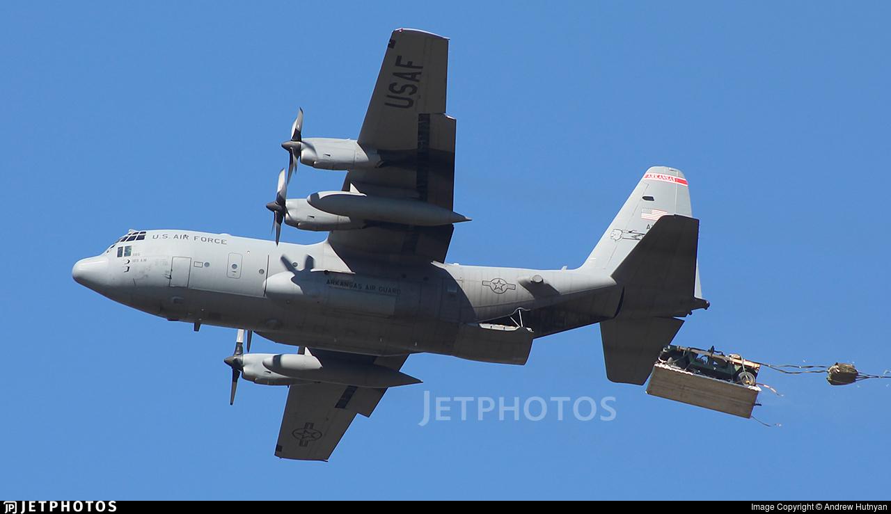89-1186 - Lockheed C-130H Hercules - United States - US Air Force (USAF)