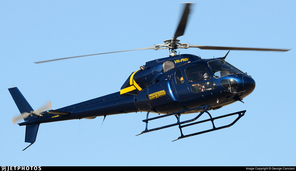 VH-PHN - Aérospatiale AS 355F2 Ecureuil 2 - Professional Helicopter Services