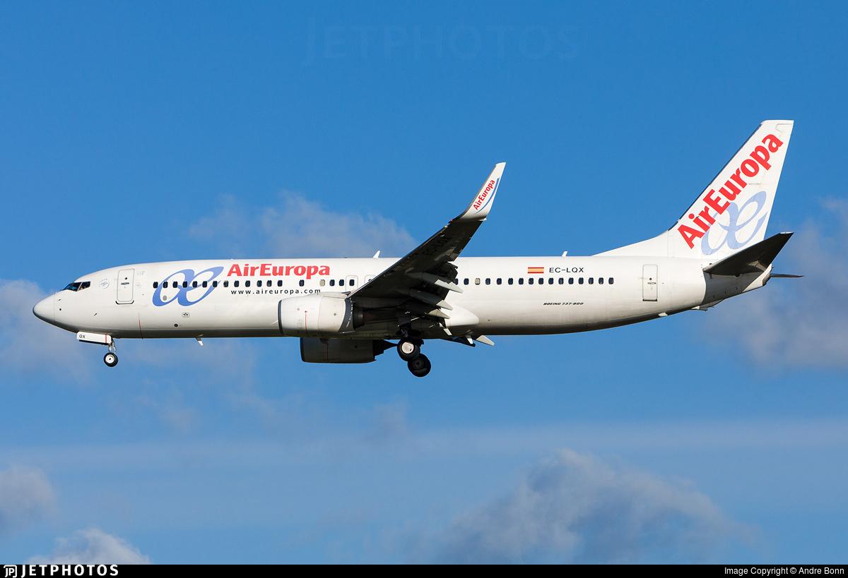 EC-LQX - Boeing 737-85P - Air Europa
