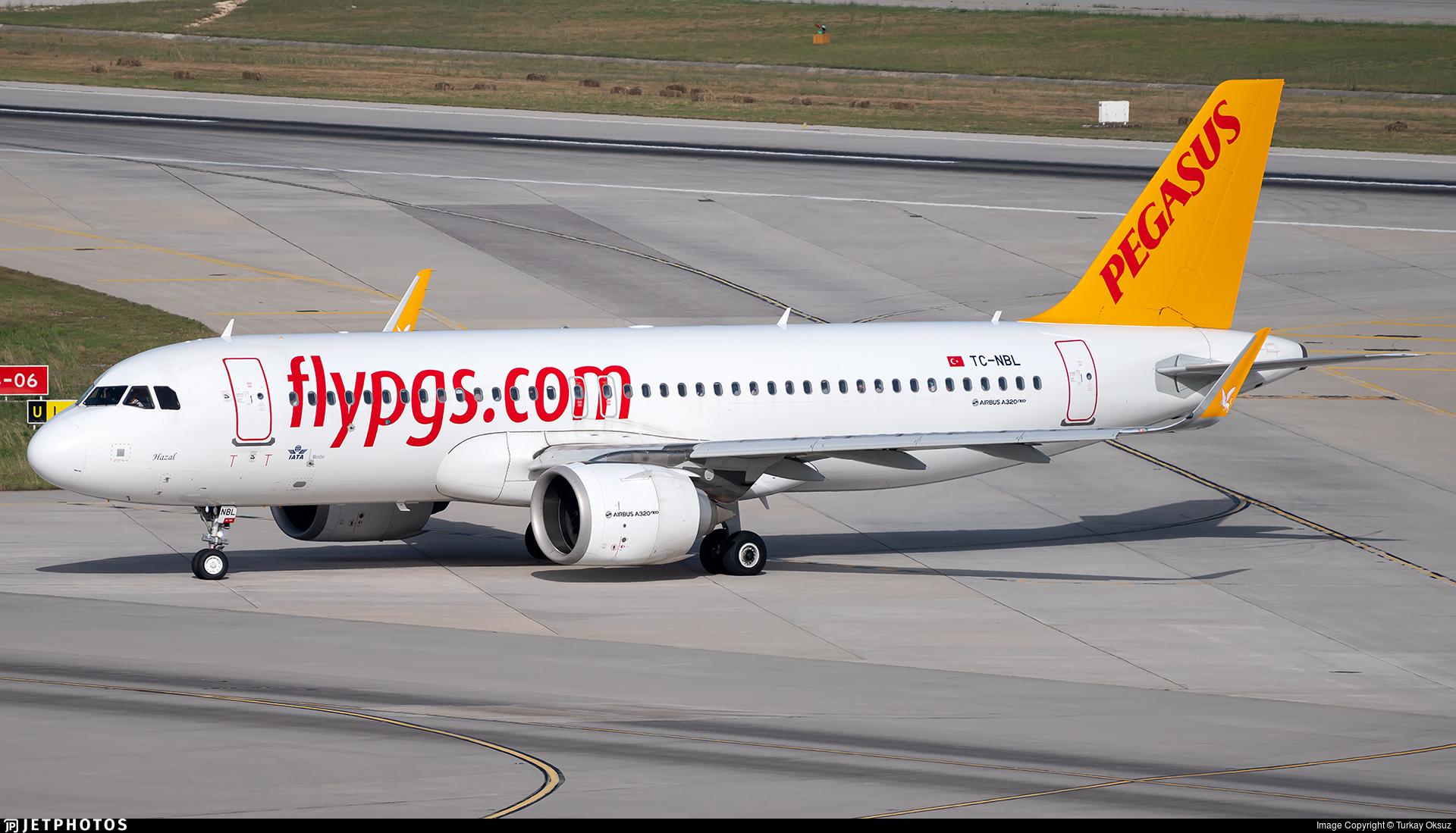 TC-NBL - Airbus A320-251N - Pegasus Airlines