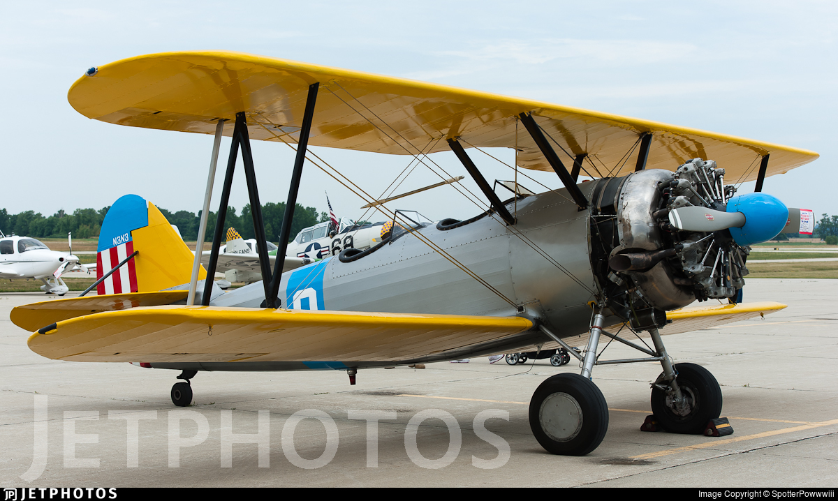N45091 - Naval Aircraft Factory N3N-3 Yellow Peril - Private