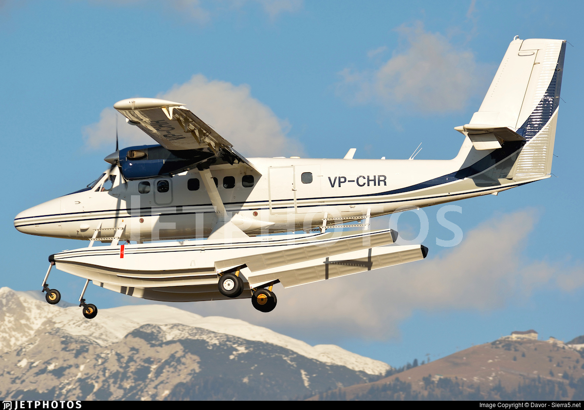 VP-CHR - Viking DHC-6-400 Twin Otter - Private