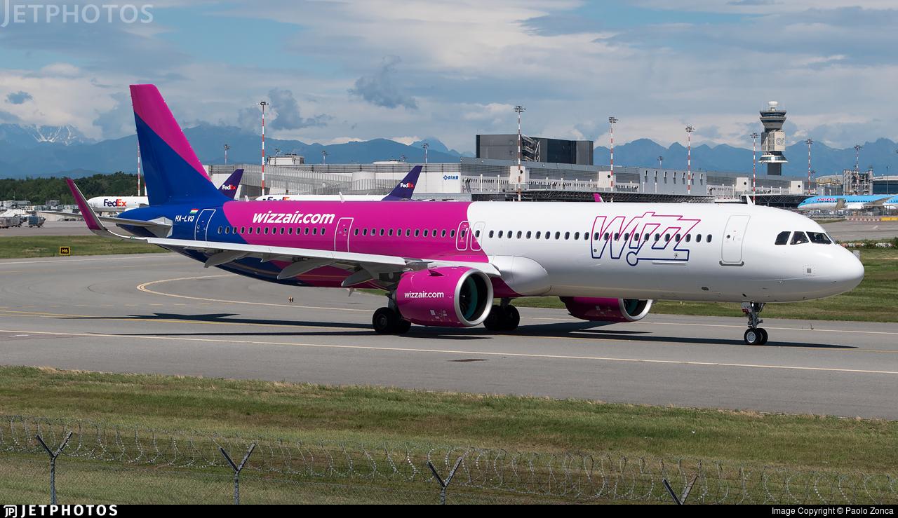 HA-LVQ - Airbus A321-271NX - Wizz Air