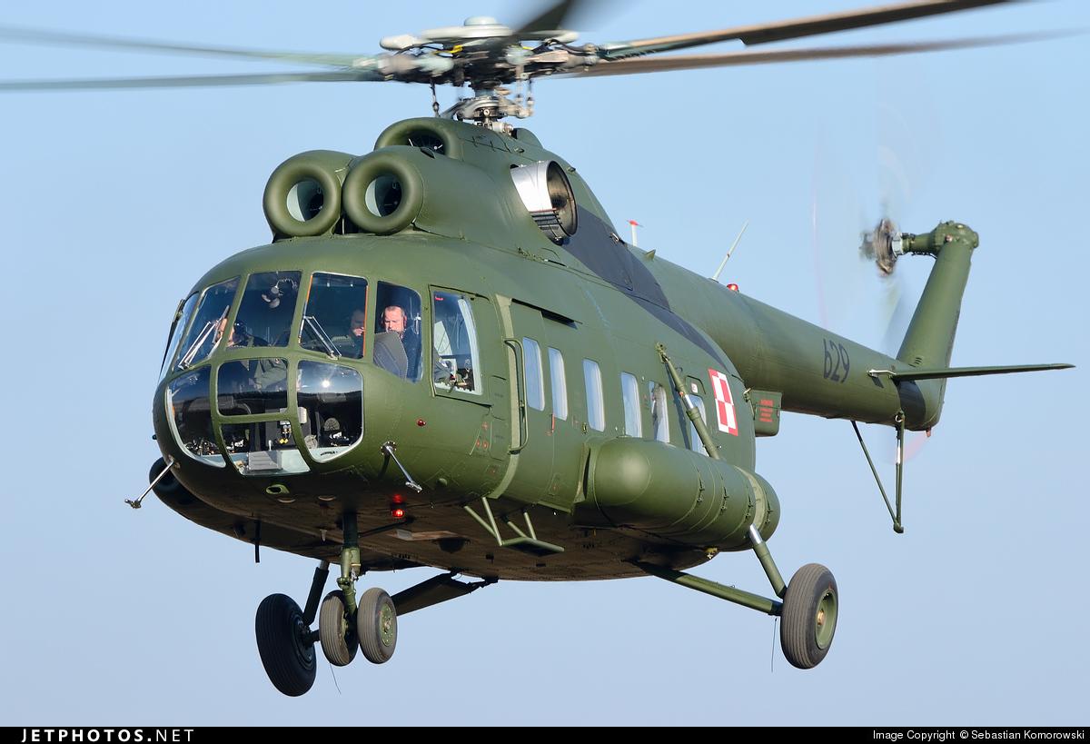 629 - Mil Mi-8P Hip - Poland - Army