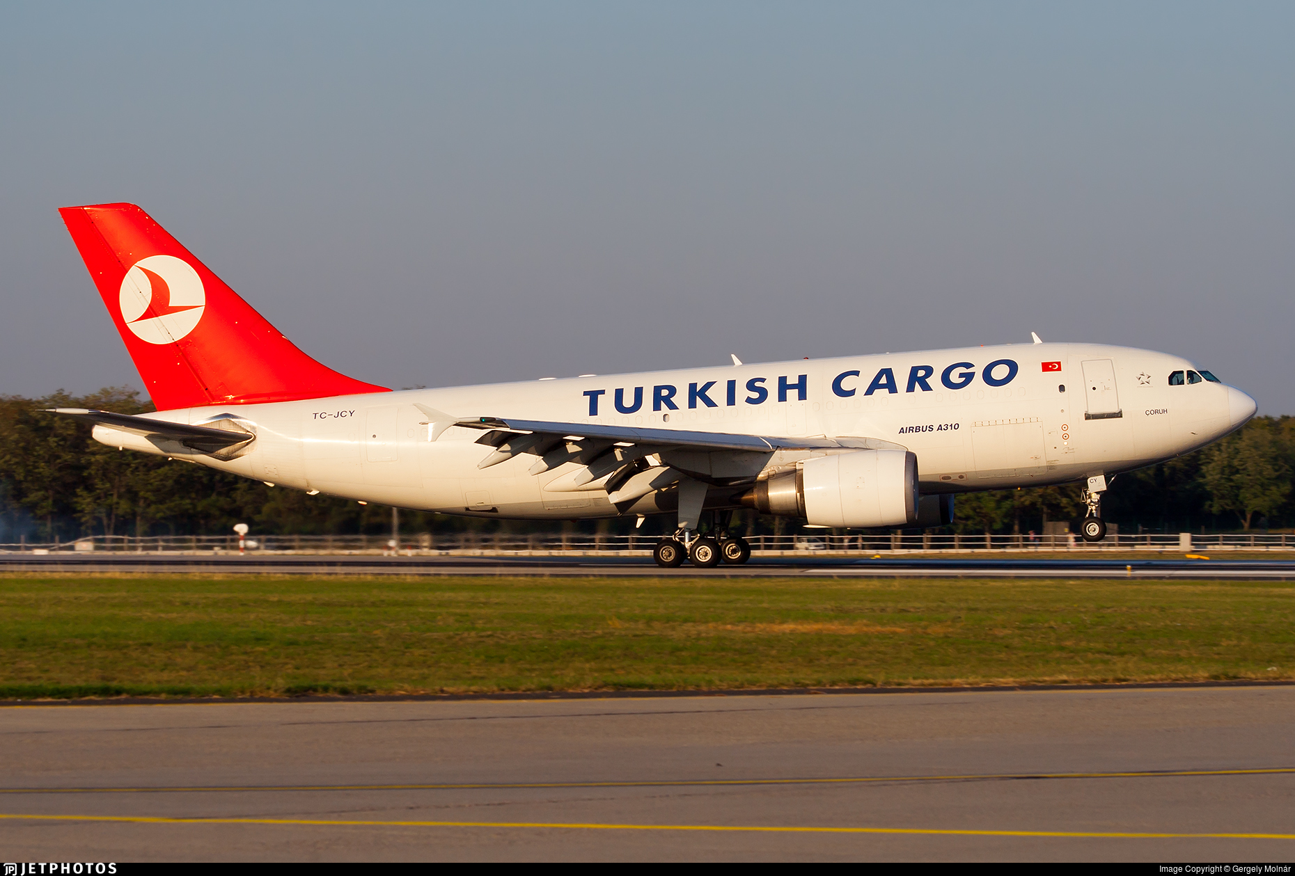 TC-JCY - Airbus A310-304(F) - Turkish Airlines Cargo