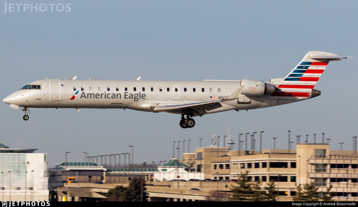 N527EA - Bombardier CRJ-702 - American Eagle (PSA Airlines)