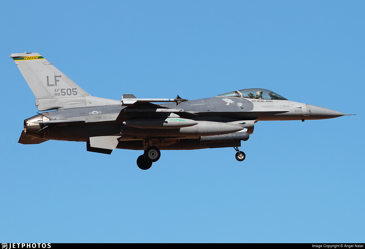 88-0505 - General Dynamics F-16C Fighting Falcon - United States - US Air Force (USAF)
