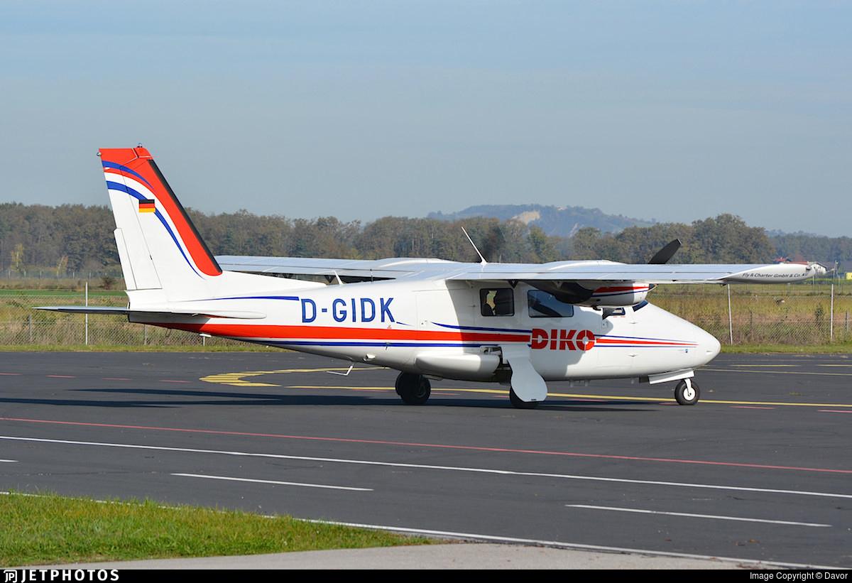 D-GIDK - Vulcanair P.68R - Private