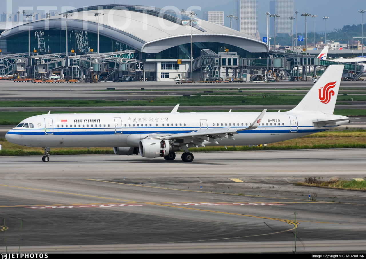 B-1639 - Airbus A321-213 - Air China