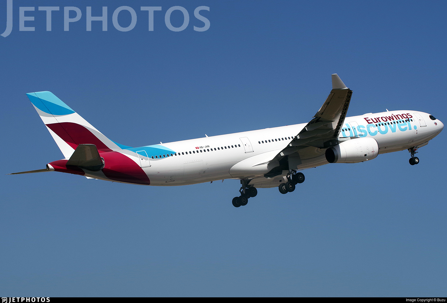 HB-JHR - Airbus A330-343 - Eurowings Discover