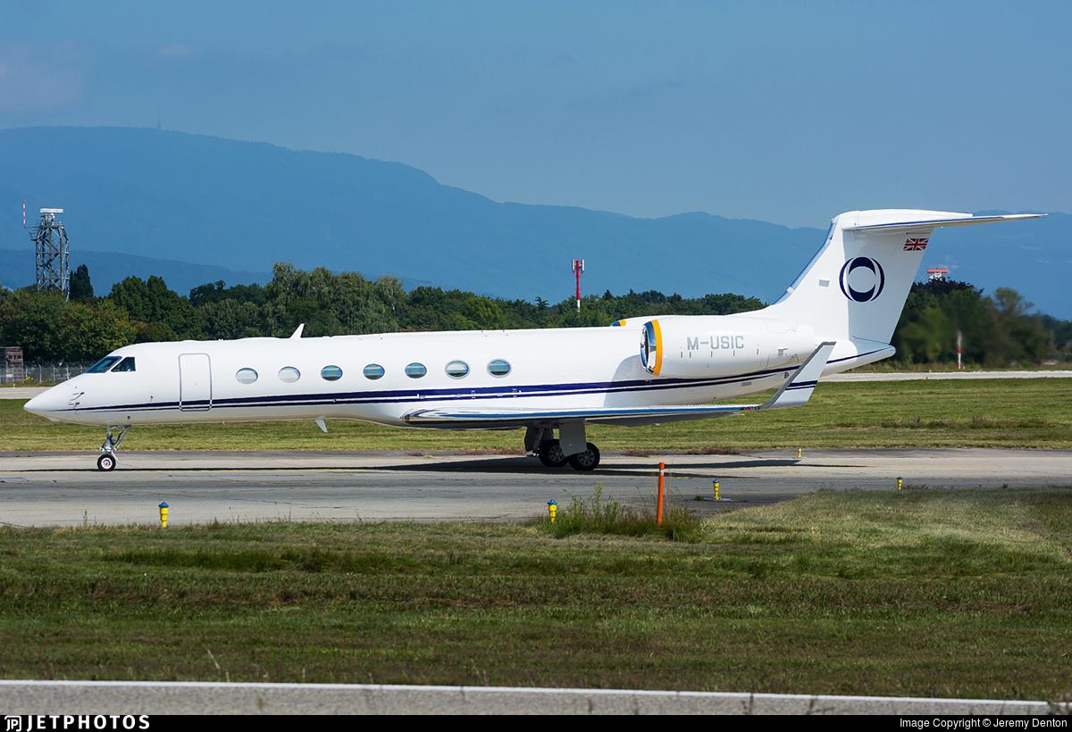 M-USIC - Gulfstream G550 - Private