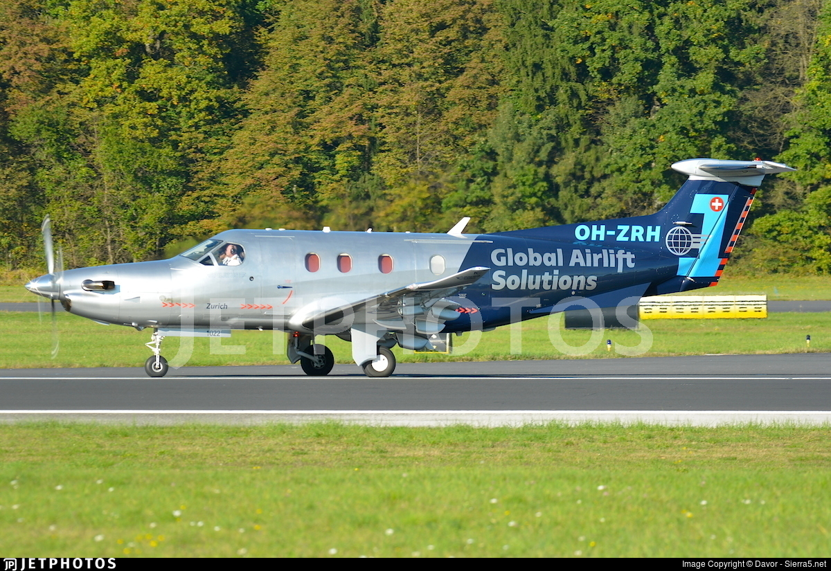 OH-ZRH - Pilatus PC-12/47E - Global Airlift Solutions