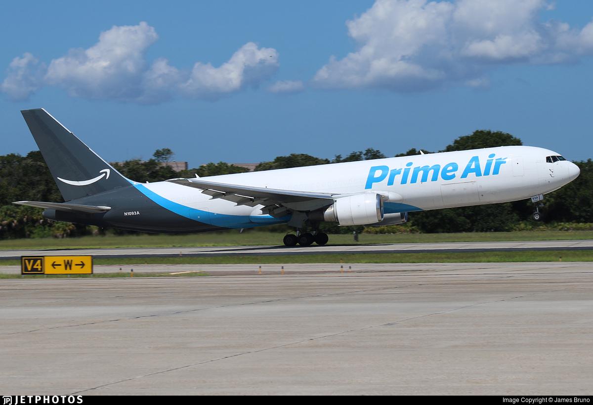 N1093A - Boeing 767-36N(ER)(BDSF) - Amazon Prime Air (Atlas Air)