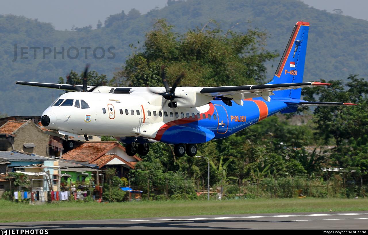 P-4501 - CASA C-295M - Indonesia - Police