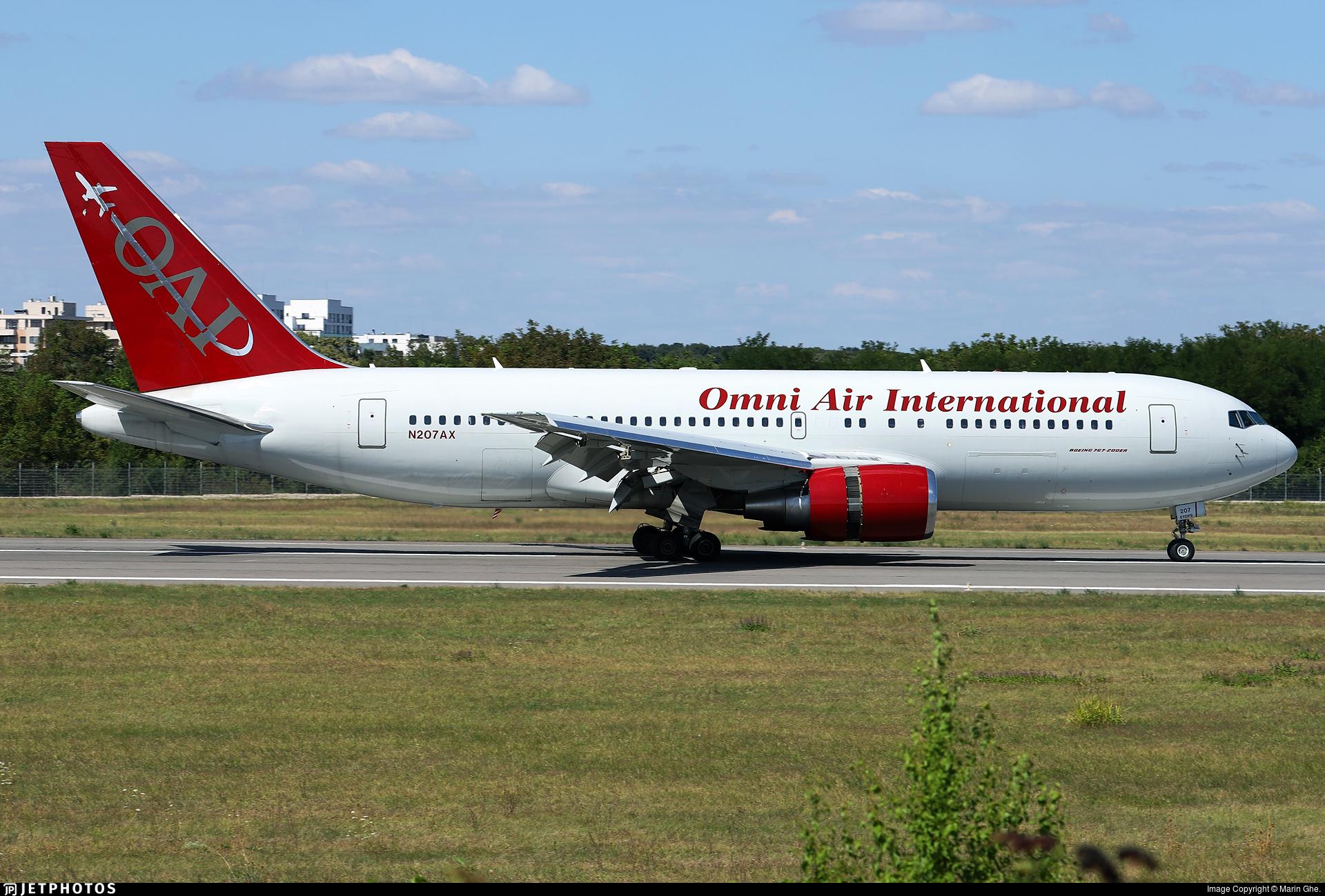 N207AX - Boeing 767-224(ER) - Omni Air International (OAI)
