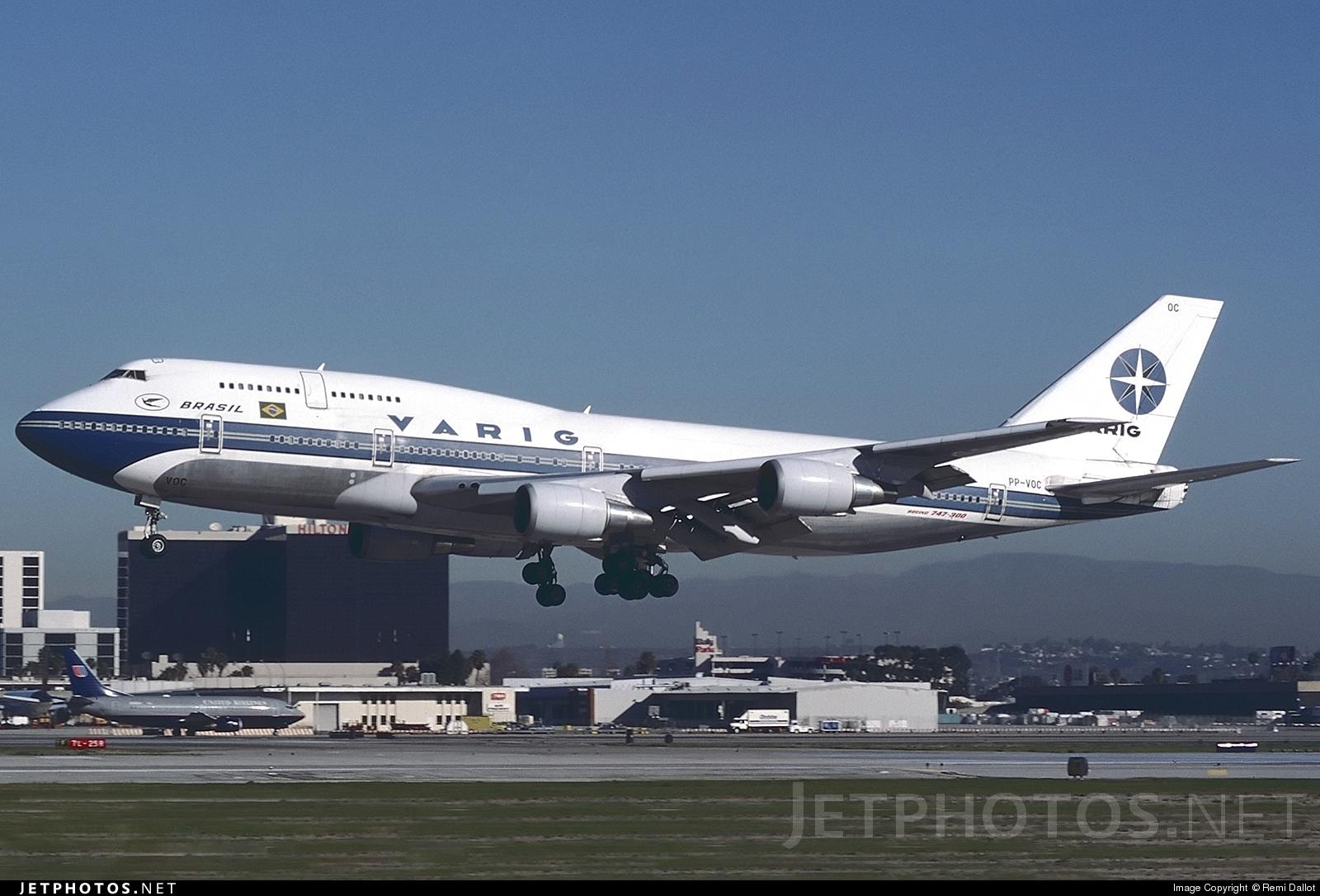 PP-VOC - Boeing 747-341 - Varig