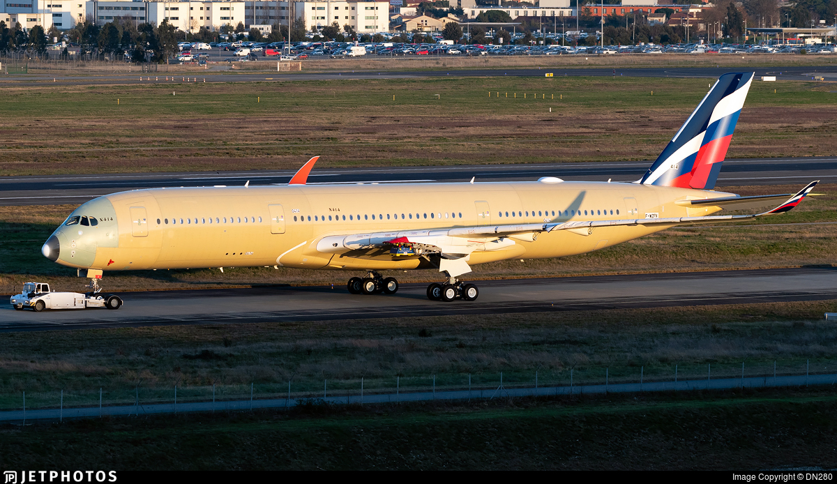 F-WZFN - Airbus A350-941 - Airbus Industrie