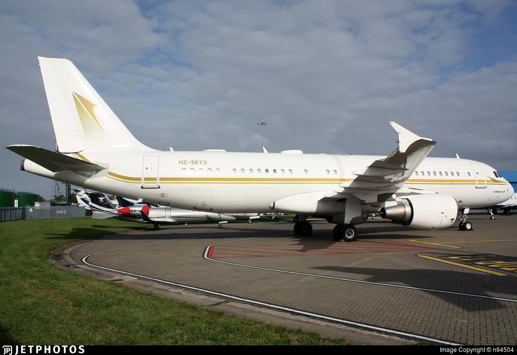 HZ-SKY3 - Airbus A320-214 - Sky Prime