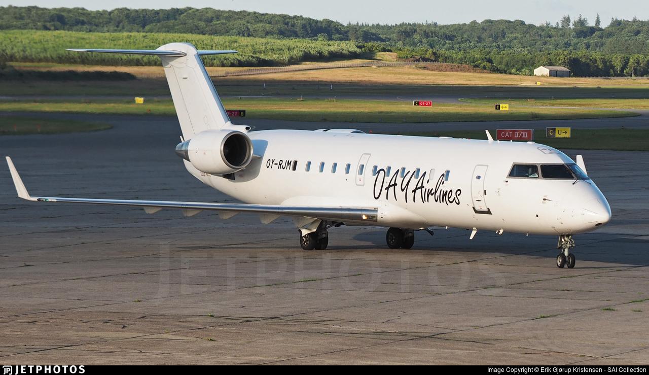 OY-RJM - Bombardier CRJ-200ER - BackBone Aviation