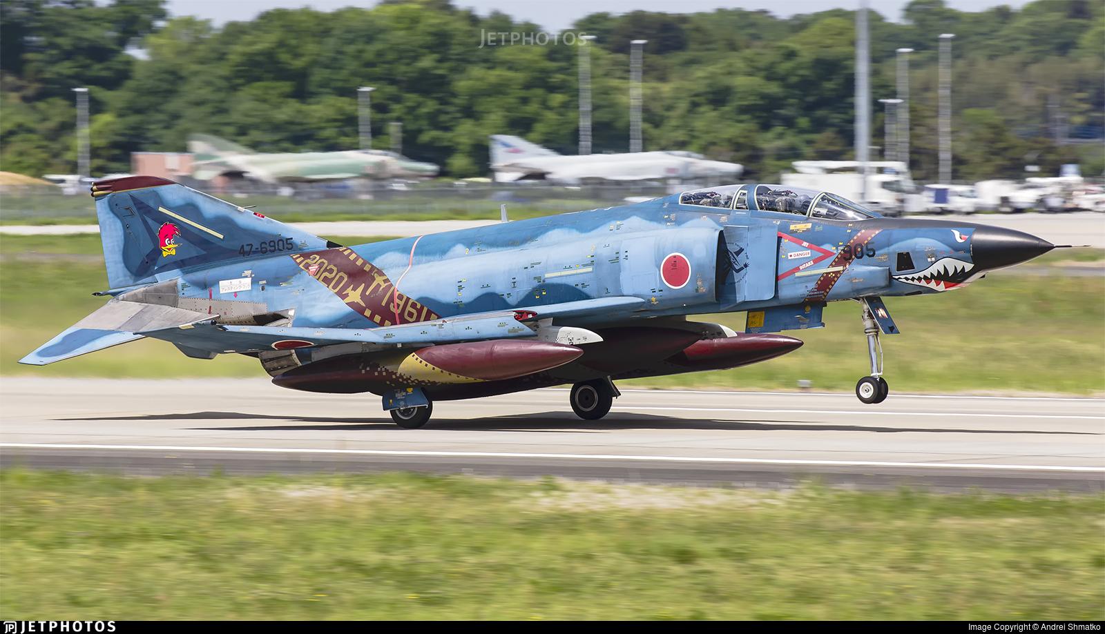 47-6905 - McDonnell Douglas RF-4E Phantom II - Japan - Air Self Defence Force (JASDF)